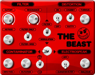 The Beast Disto Low pass Filter