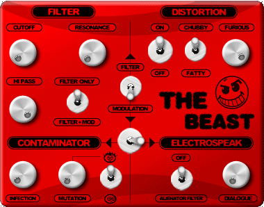 The Beast chubby distortion
