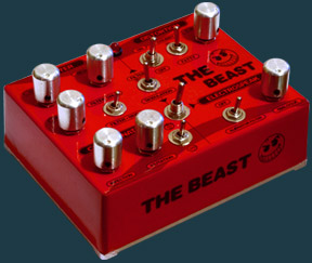 The Beast Distortion Pedal